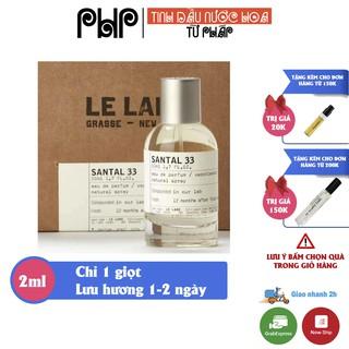 Tinh dầu nước hoa Nam Nữ Unisex Le LaBo thơm lâu từ 1 - 2 ngày dùng làm mỹ phẩm, xông phòng, khử mùi hàng cao cấp thumbnail