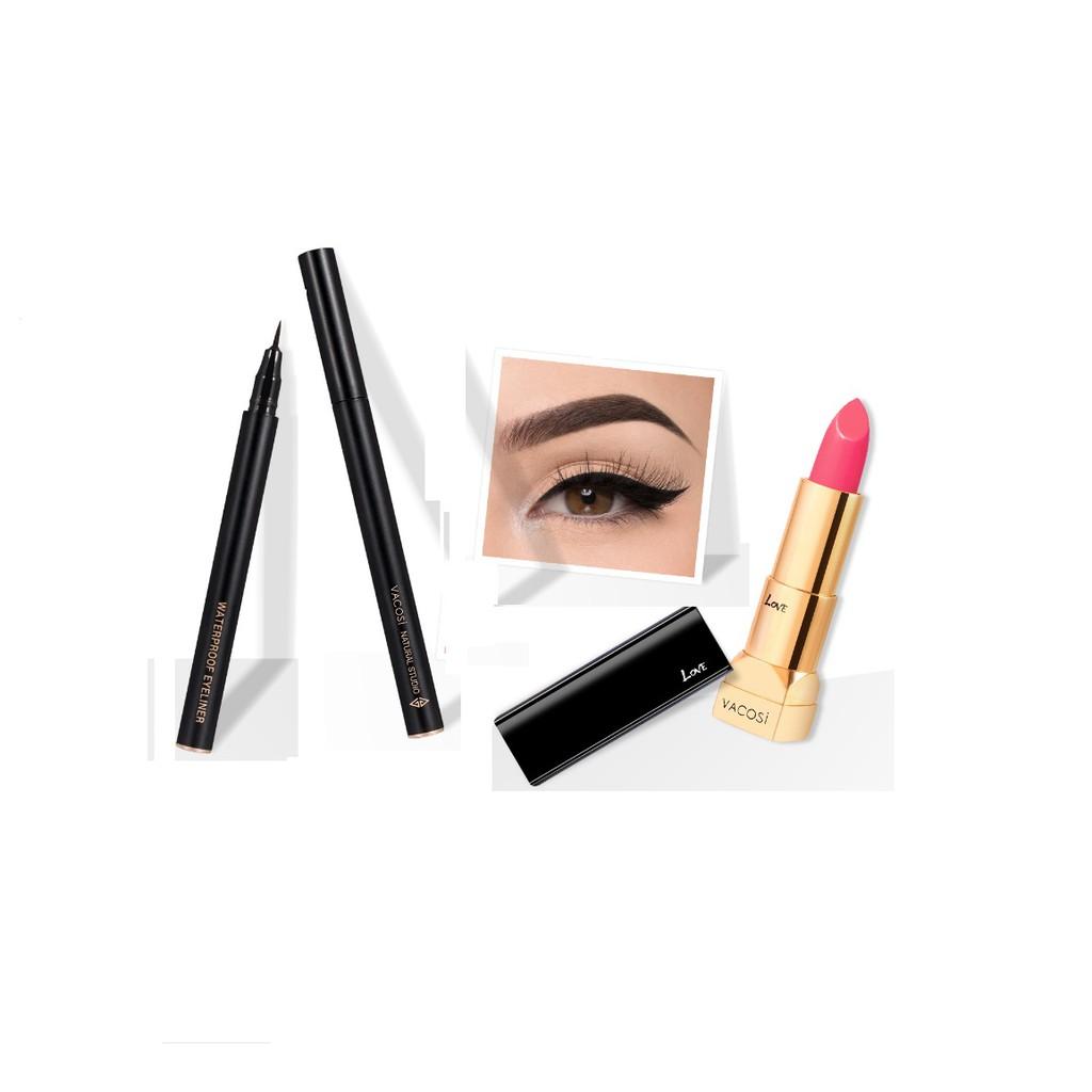 [GIÁ HỦY DIỆT] Combo Son môi cao cấp Vacosi Love Luxury Lipstick + Kẻ mắt nước siêu đẹp Vacosi Water - 2943704 , 1007909294 , 322_1007909294 , 550000 , GIA-HUY-DIET-Combo-Son-moi-cao-cap-Vacosi-Love-Luxury-Lipstick-Ke-mat-nuoc-sieu-dep-Vacosi-Water-322_1007909294 , shopee.vn , [GIÁ HỦY DIỆT] Combo Son môi cao cấp Vacosi Love Luxury Lipstick + Kẻ mắt n
