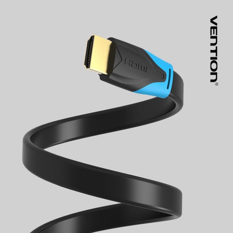 Cáp HDMI Vention VAA-B02-L300 dẹt hỗ trợ 4K ( dài 3m )