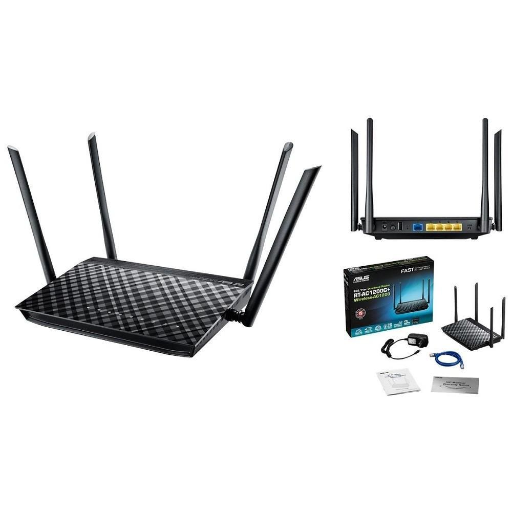 [Mã ELTECHZONE giảm 5% đơn 500K] Thiết bị mạng phát Wifi Asus RT-AC1200G+ New 100%
