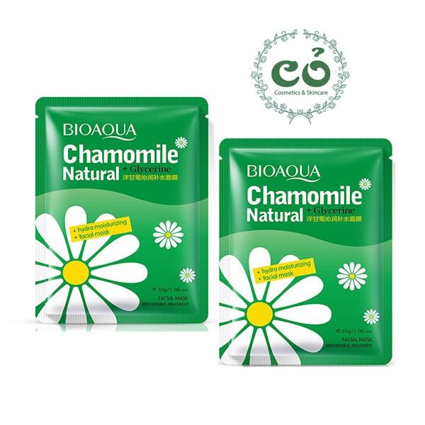 Mặt nạ hoa cúc Bioaqua Chamonmile Natural + Glycerine