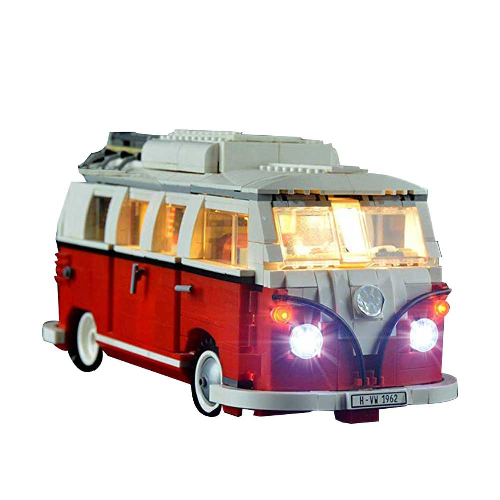 Children Toy Lighting Kit for LEGO 10220 VW CAMPER VAN