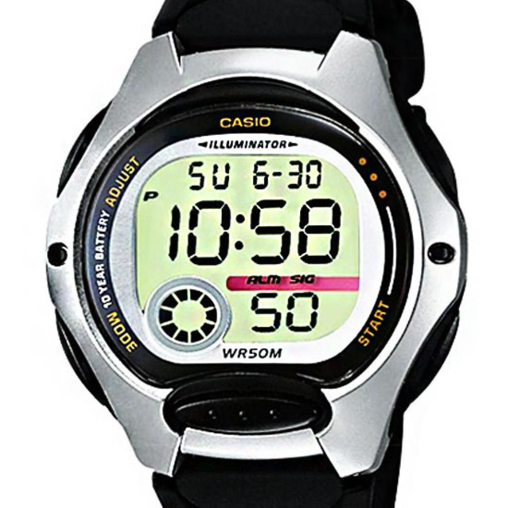 Đồng hồ Casio Nữ dây nhựa điện tử LW-200