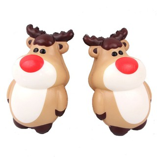 SOME Elk Squeeze Reindeer Toy Slow Rising Stress Reliever Christmas Gift