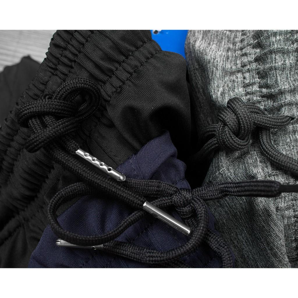 Quần dài ba sọc nam, quần jogger thể thao nam nữ chất thun poly vải mềm mịn co dãn thoáng mát - JOG01