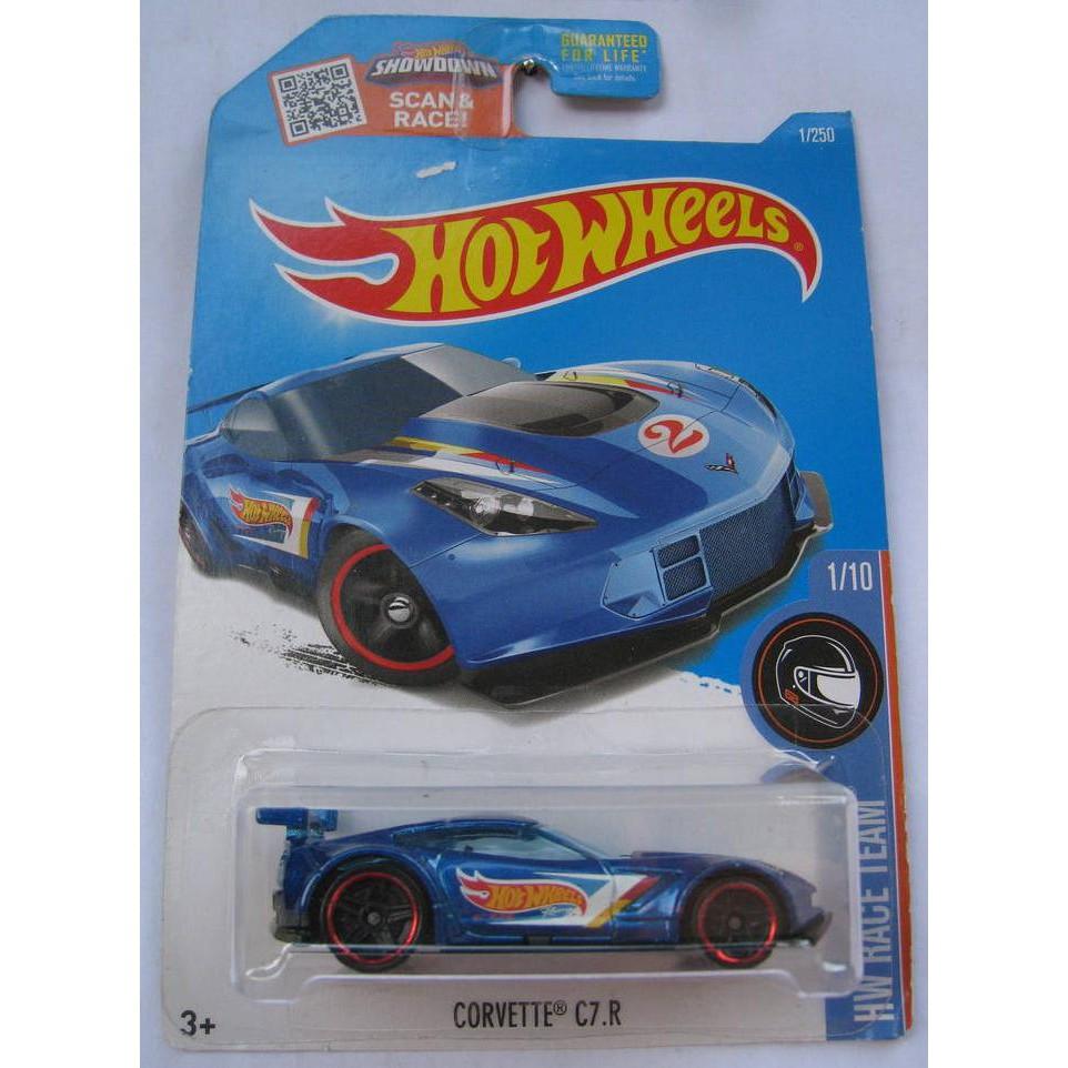 Xe mô hình Hot Wheels Corvette C7.R DHP37