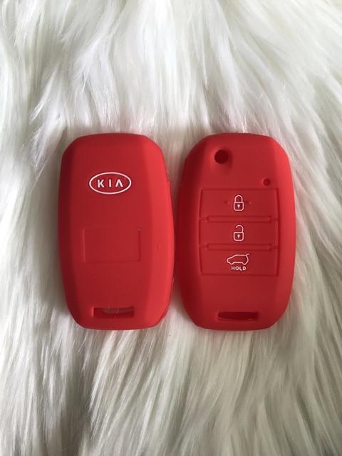 Bao Slicone bọc bảo vệ chìa khoá KIA Cerato  Forte Sportage  3 nút