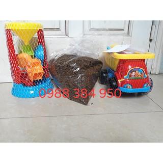 Combo đồ chơi xúc cát siêu tiết kiệm 159