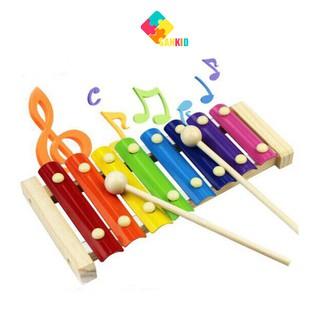 Nhạc cụ Đàn Gõ Xylophone 8 Thanh Cho Bé thumbnail