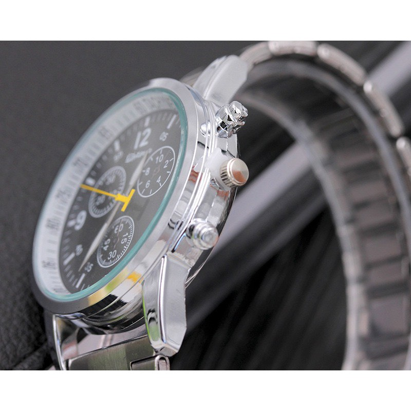 Đồng hồ nam Modiya dây kim loại phong cách lịch lãm DH103