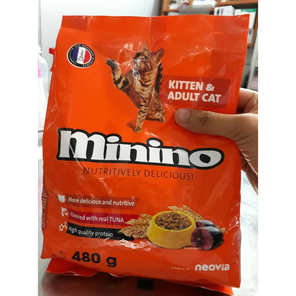 Thức ăn cho mèo con MININO (dùng được cho cả mèo con và mèo trưởng thành)