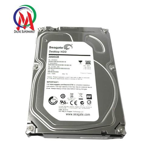 Ổ cứng PC 3TB SEAGATE mỏng 2N không giờ chạy