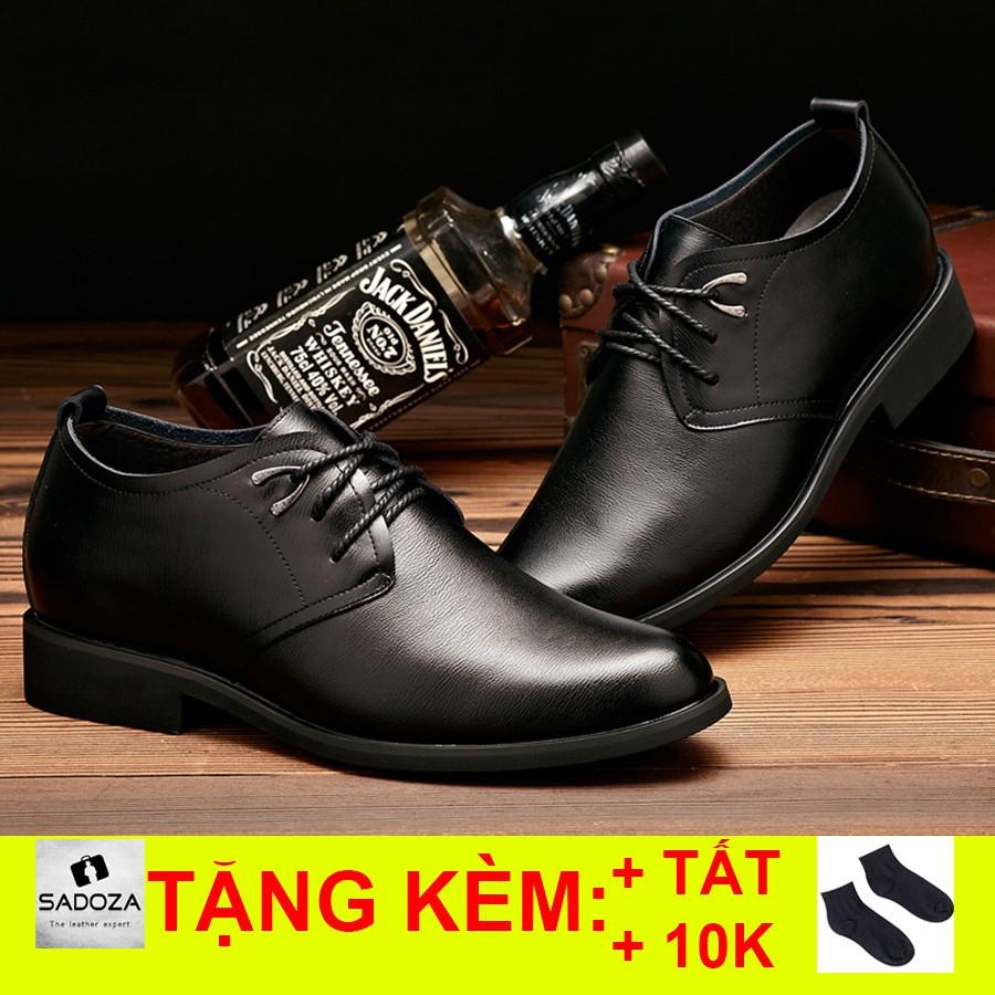 Giày Tăng Chiều Cao Nam - FREESHIP - Giày Nam Cao Cấp Thời Thượng GD36