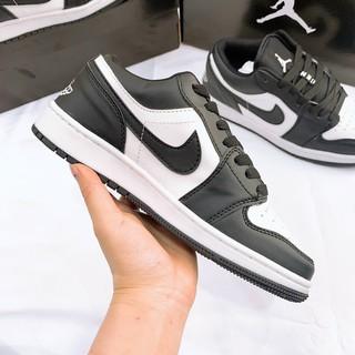 Giày Sneaker Air Jordan Đen Trắng Cao Cấp Full Size Nam Nữ thumbnail