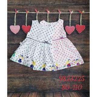 Hàng hè 2020 Váy BabyPoint cho bé size 18m - 5y, dành cho bé từ 11kg đến 20kg, chất cotton mềm mịn
