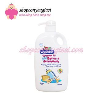 Nước Rửa Bình Sữa Kodomo 750ml - Thái Lan