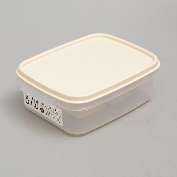 Hộp thực phẩm Whity 870ml Yamada Nhật Bản Có thể đặt trong tủ đông và lò vi sóng