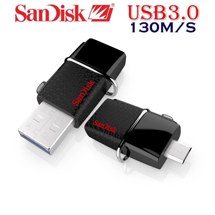 USB OTG Sandisk 3.0 Ultra Dual 16GB 130MB/s
