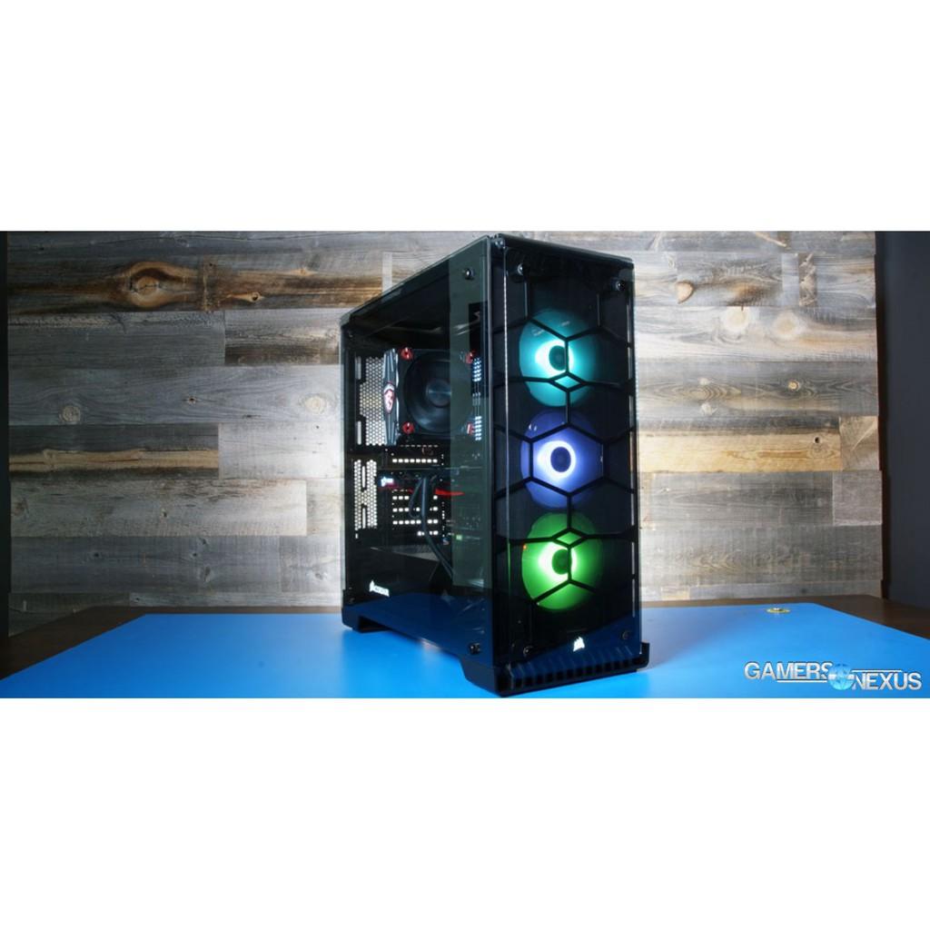 Vỏ case Corsair 570X RGB ATX Mid Tower Giá chỉ 2.800.000₫