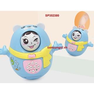 Trứng lật đật pin xoay nhiều mặt, 1135A (Cái)