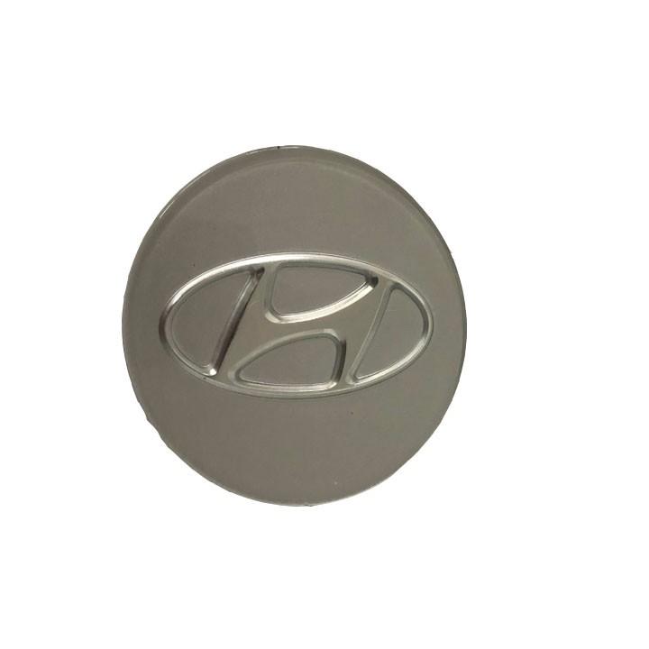 Biểu Tượng Logo Hyundai chụp mâm, vành, bánh xe kích thước 60mm/ Mã sản phẩm HY-60