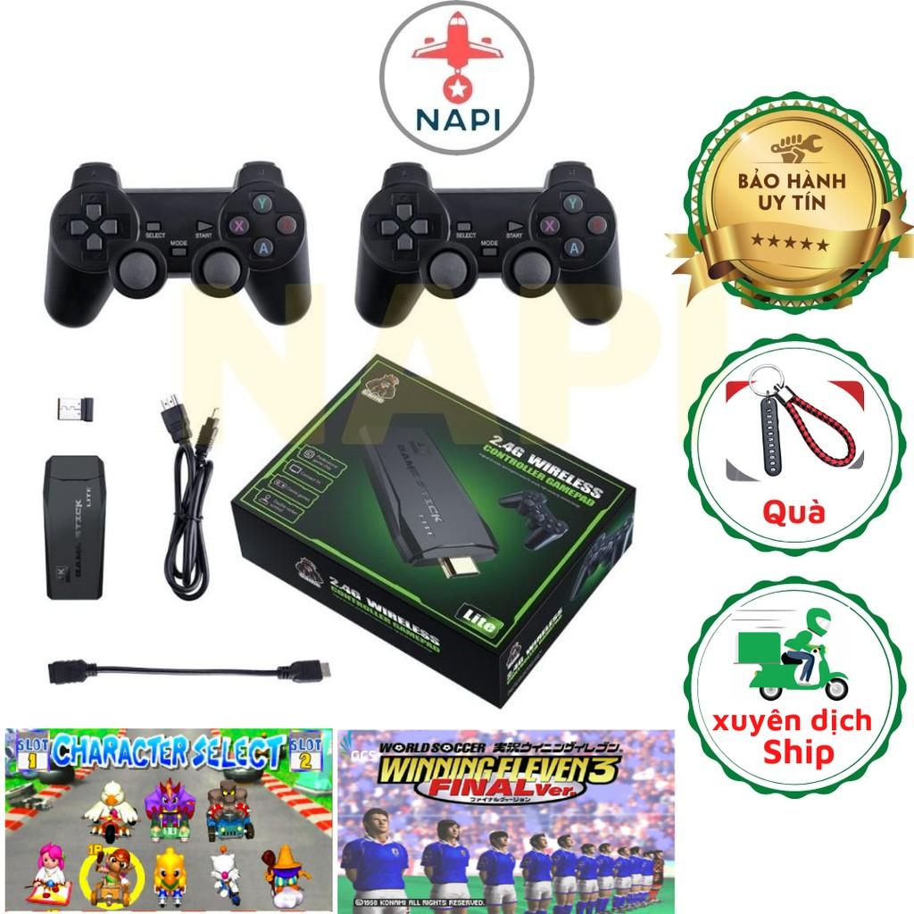 Máy chơi game stick 3500 lite HDMI, máy điện tử 4 nút cầm tay không dây -  Đồ chơi phát nhạc và nhạc cụ