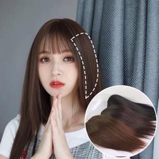 Kẹp tóc giả phím phồng làm dày tóc tự nhiên dễ sử dụng