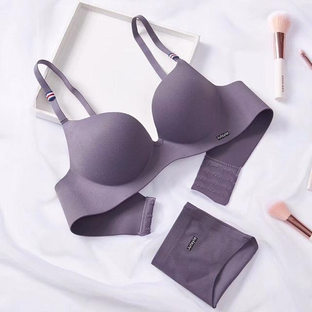 Bộ đồ lót / set đồ lót chất su đúc không gọng nâng ngực (Mã giảm giá 5-10-20k)