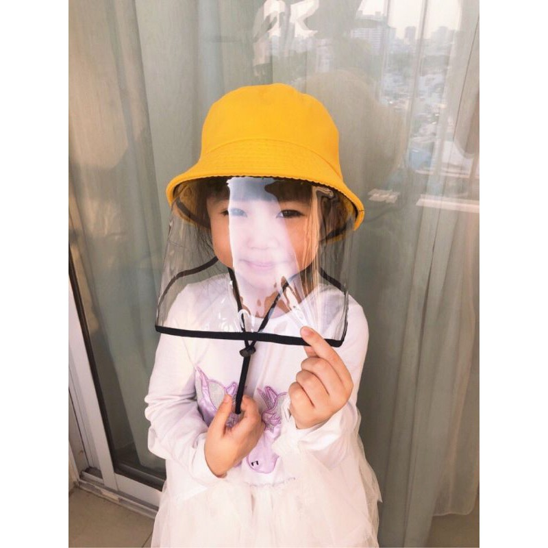 Nón bucket trẻ em chống dịch