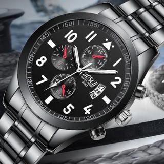Đồng hồ nam giảm giá BOSCK chính hãng, lên tay tuyệt đẹp, chống nước tốt thumbnail