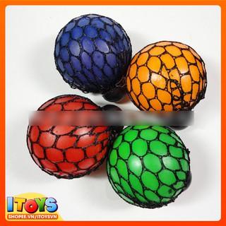 [Nhập TOYMAY giảm 10K Xu]Bóng Lưới Bóp Mesh Squishy Ball Xả Stress – ITOYS