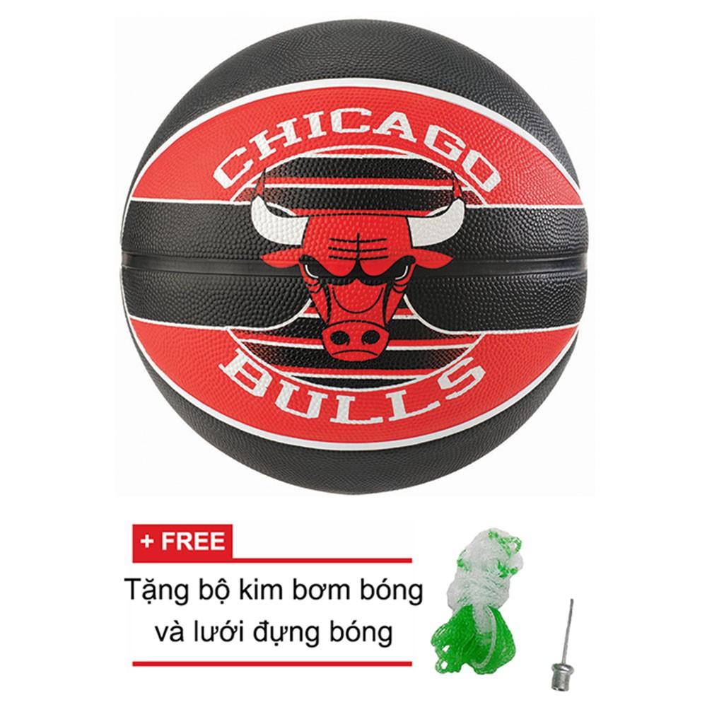 Bóng rổ Spalding NBA Team Chicago Bulls Outdoor size 7 + Tặng bộ kim bơm bóng và lưới đựng bóng - 3132980 , 1024718249 , 322_1024718249 , 540000 , Bong-ro-Spalding-NBA-Team-Chicago-Bulls-Outdoor-size-7-Tang-bo-kim-bom-bong-va-luoi-dung-bong-322_1024718249 , shopee.vn , Bóng rổ Spalding NBA Team Chicago Bulls Outdoor size 7 + Tặng bộ kim bơm bóng
