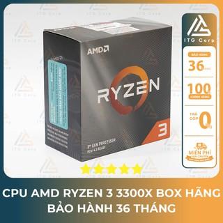 CPU AMD Ryzen 3 3300X – Box Hãng Có Bảo Hành 36 Tháng