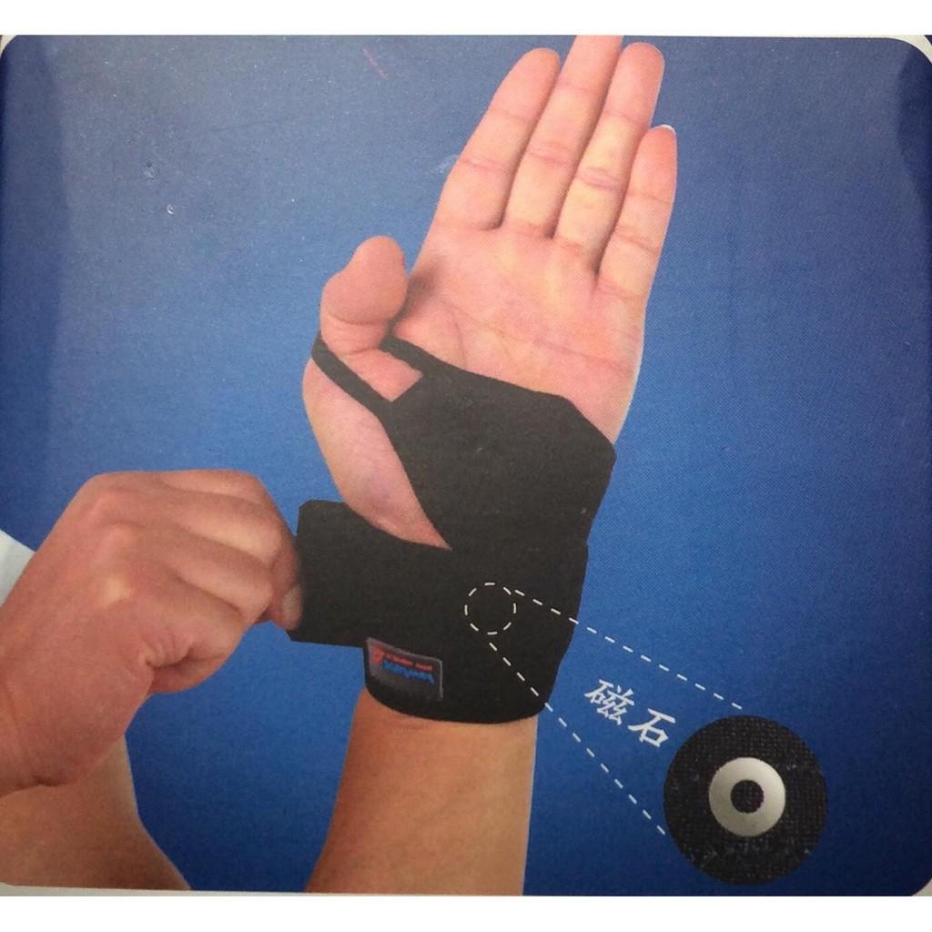 Đai cuốn cổ tay bảo vệ và hỗ trợ khớp tay, đai cuốn cổ tay có hạt massage thoải mái khi vận động