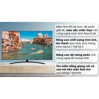Smart Tivi NanoCell LG 4K 65 inch 65SM9000PTA( Hàng tồn kho New Bảo hành 2 năm chính hãng)