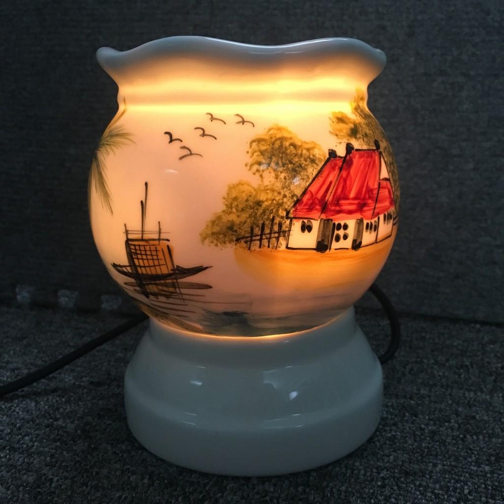 Đèn xông tinh dầu vẽ phong cảnh - 2458552 , 177100686 , 322_177100686 , 110000 , Den-xong-tinh-dau-ve-phong-canh-322_177100686 , shopee.vn , Đèn xông tinh dầu vẽ phong cảnh