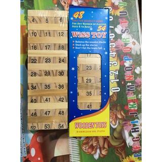 Trò chơi rút gỗ 54 thanh size lớn