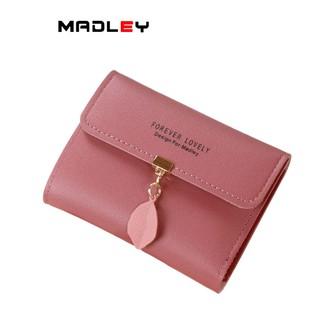 Ví nữ gấp 3 mini MADLEY dễ thương nhỏ gọn bỏ túi cao cấp nhiều ngăn đựng tiền VD338 thumbnail