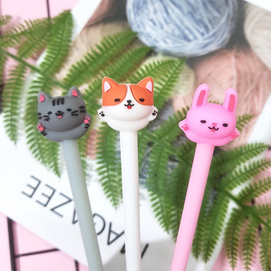 Bút bi nước mèo ú cute