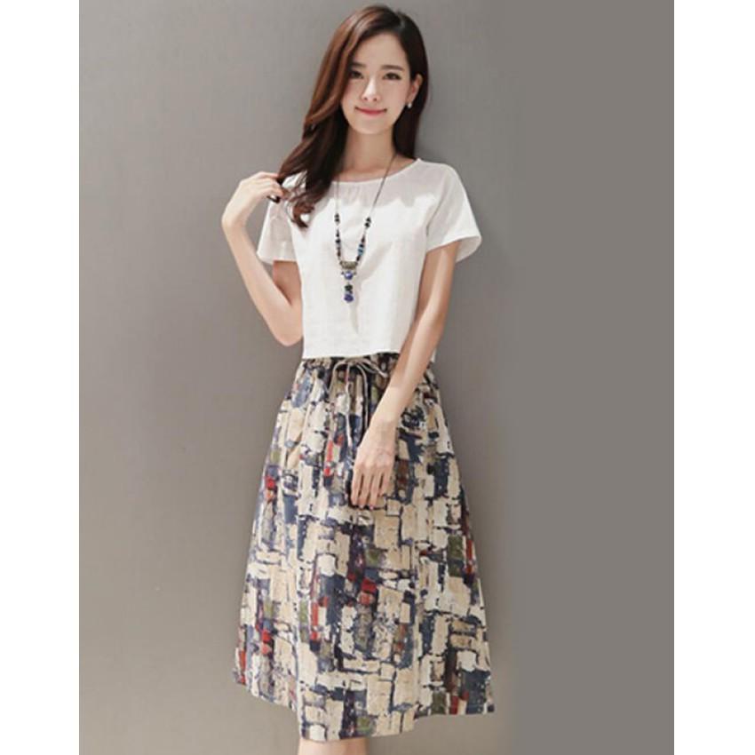 Bộ Đầm Kèm Áo Ngắn Thời Trang Phong Cách TLG 206393