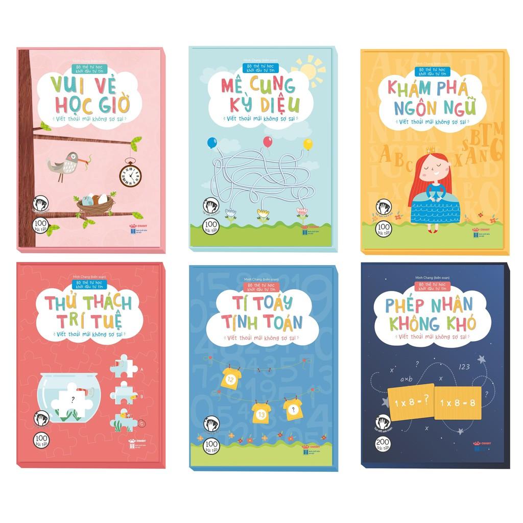 Flashcards - Bộ Thẻ Tự Học Khởi Đầu Tự Tin (Dành cho trẻ từ 3 tuổi trở lên) - Crabit Kidbooks