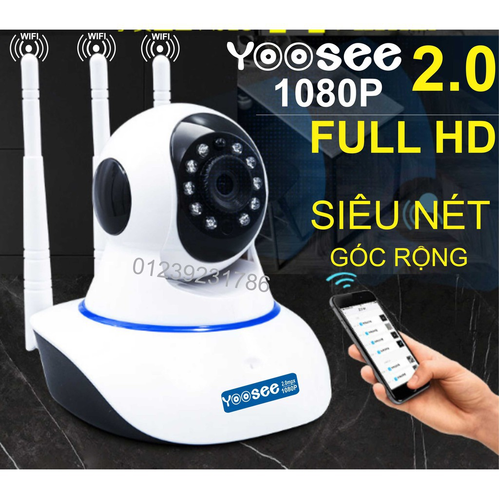 [Shopee trợ giá]Camera IP YooSee 2.0mpx FHD1080P - 3 Anten - 22365315 , 1578832540 , 322_1578832540 , 419000 , Shopee-tro-giaCamera-IP-YooSee-2.0mpx-FHD1080P-3-Anten-322_1578832540 , shopee.vn , [Shopee trợ giá]Camera IP YooSee 2.0mpx FHD1080P - 3 Anten