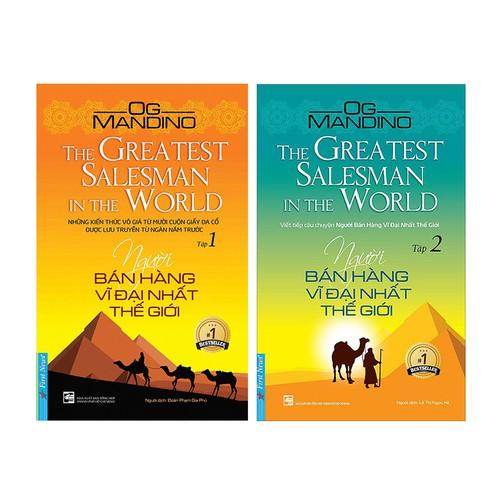 Sách Người Bán Hàng Vĩ Đại Nhất Thế Giới (Trọn Bộ 2 Tập)