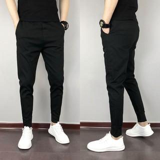 Quần đũi thun nam [ Quần dài nam ] ống côn Slim, thời trang phong cách đơn giản mạnh mẽ chất vải mềm mại co giãn KK3