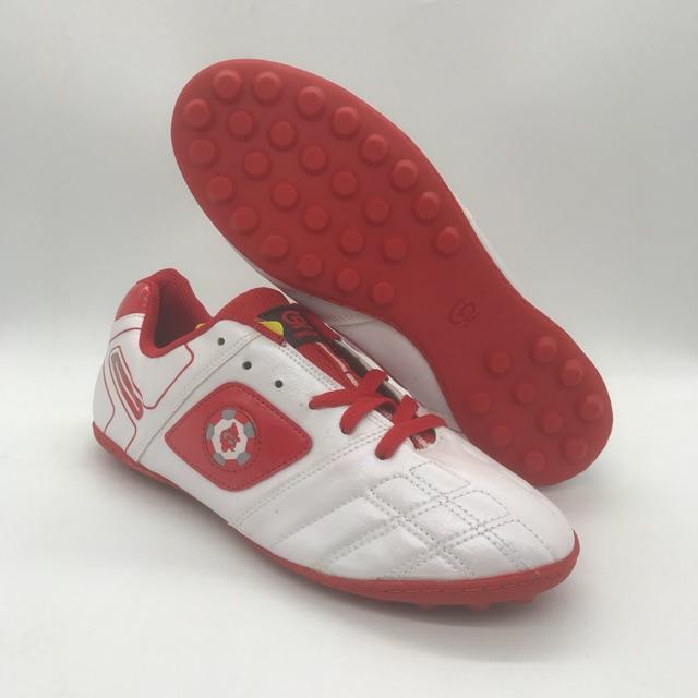 Giày đá bóng CP 074 màu trắng da mềm