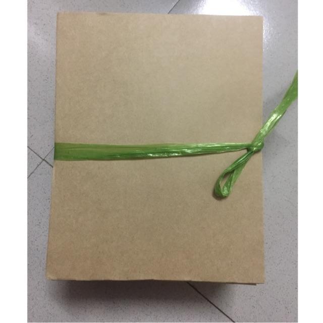 (Thanh lý) giấy xi măng nhỡ khổ 1kg cắt sẵn 17x20
