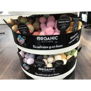 Bath bomb/ Viên sủi bồn tắm Organic Kitchen