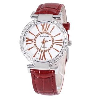 Đồng hồ nữ chính hãng Royal Crown 6116 dây da các màu