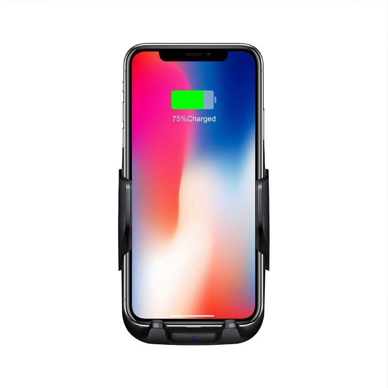 Đế sạc điện thoại gắn xe hơi thiết kế tiện dụng cho IPHONE X XR XS 8 SAMSUNG S9 S8 S7 S6 NOTE 9/8 HUAWEI MATE 20