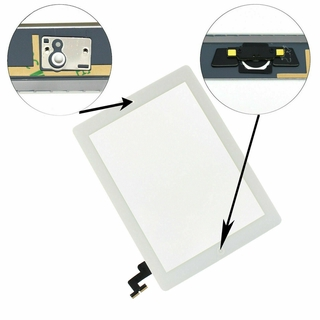 For iPad 6 2018 A1893 A1954 Touch Screen Digitizer Glass+Home Button 9.7 inches